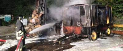 Tav: tensione in Val Susa, a fuoco macchinari capannone